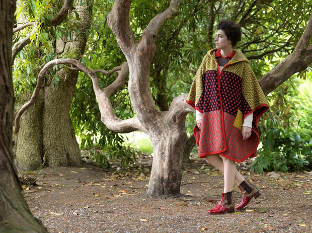 Joanne Hynes' photo shoot at Rathnew, county Wicklow