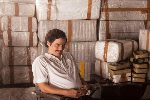 Monster: Wagner Moura as Escobar in Netflix show Narcos