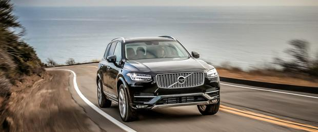 Stylish and sleek: The new Volvo XC90 has, among its features, active cruise control
