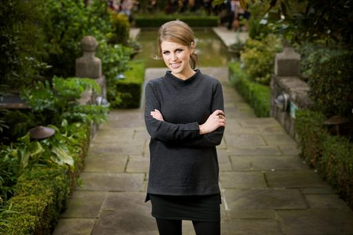Amy Huberman: Sometimes I have a million and one things to do, and I'm trying to organise work around the kids. Photo: Tony Gavin
