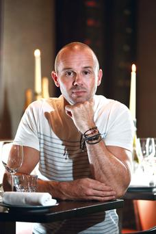 Oliver Dunne, owner/chef of Bon Appetit Restaurant in Malahide. Photo: Frank Mc Grath