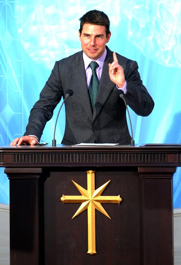 Faith: Tom Cruise is a long-time Scientology member.