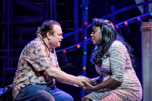 A scene from Love Me Tender. Photo: Johan Persson