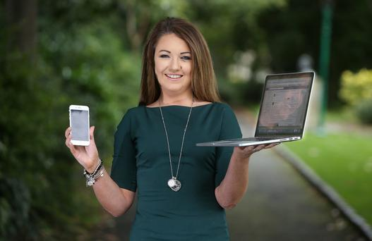 Privacy warning: Social media expert Ciamh McCrory. Photo: Damien Eagers