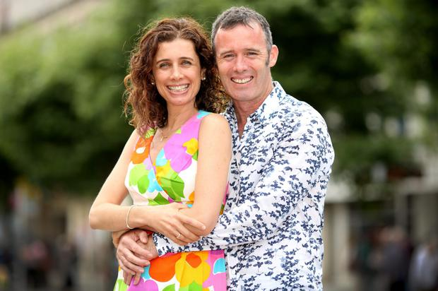 Dynamic duo: Talya Lewin and Diarmuid Russell have lived all over the world and have established a health company called Superlife. Photo: Gerry Mooney.