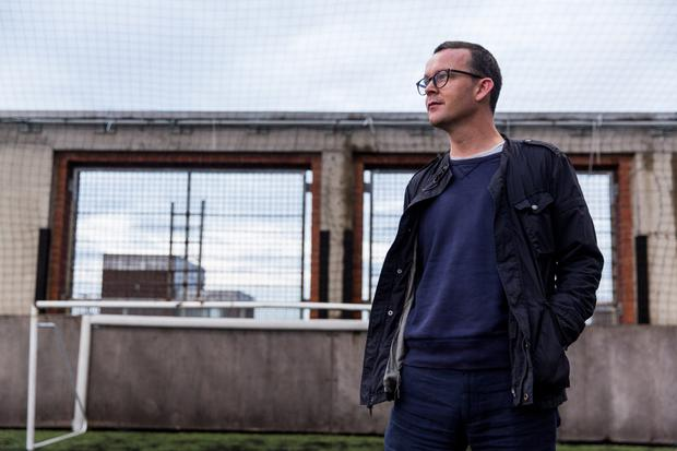 Love of his life: Playwright Enda Walsh puts his family and writing above all else.