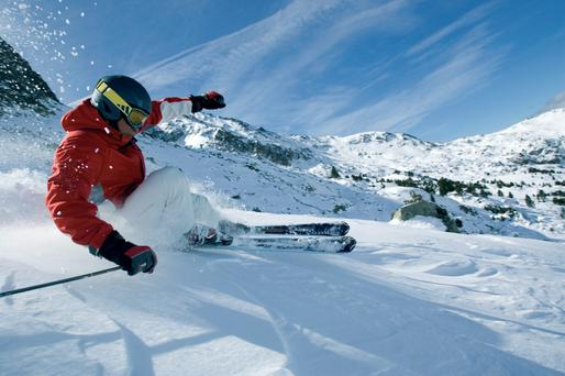 On the slopes: Arinsal, in the Vallnord domain in Andorra, is the perfect place to learn to ski.