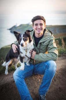 On his fifth cookery book: Donal Skehan and Max, by Sofie Larsson-Skehan