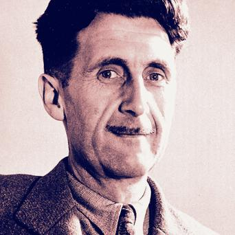George Orwell described advertising as 'the rattling of a stick in a swill bucket'