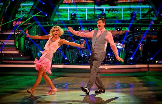Daniel O'Donnell in 2015's Strictly Come Dancing