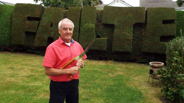 All welcome: RTE's new image Angelus will include creative activities like topiary.