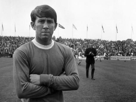 Howard Kendall: The Everton midfielder who went on to manage the Merseyside club to two championships.
