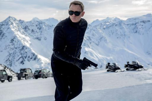 Licence to thrill: Daniel Craig's latest outing as Bond in Spectre.
