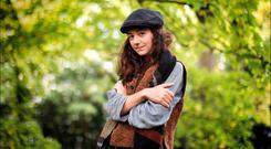 Theatre pedigree: Actor Beth Cooke is a member of the Cusack dynasty. Photo: David Conachy.