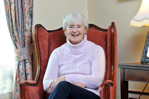 Author Alice Taylor: tribute to our female ancestors. Photo: Daragh McSweeney.