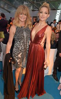 Best friends: Goldie Hawn and daughter Kate Hudson have always had a close relationship.