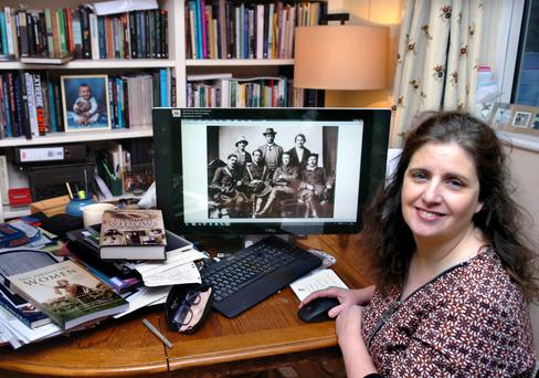 Independent women: Sinead McCoole has been researching the women of 1916 and their stories for years. Photo: Henry Wills.
