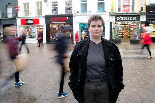 Asexual: Leanne Kelly does not experience sexual attraction to anyone, male or female.Photo: Andrew Downes.