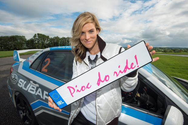 'Pioc do Ride' presenter Aine Goggins (29) has added her own flavour to the TG4 show.