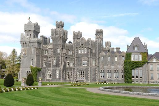 Check in, chill out: Ashford Castle, just outside the Co Mayo village of Cong, provides the last word in luxury to pampered guests.