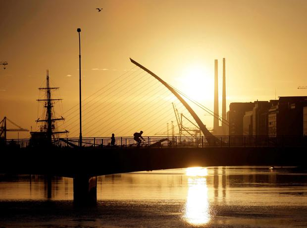 Happy place: the survey suggests the mists of negativity and austerity are finally lifting