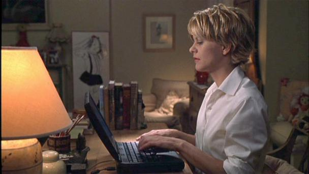 Back when email was fun: Meg Ryan starring in 'You've Got Mail'.