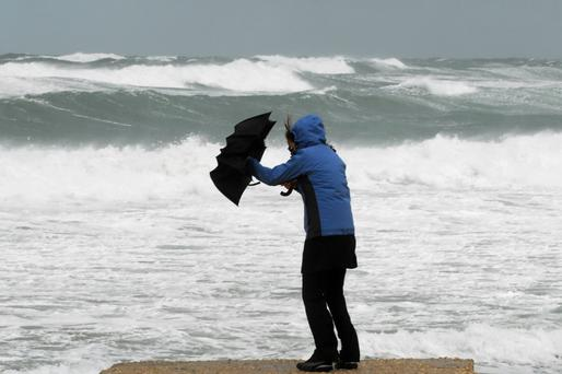 People warned to stay away from coastal areas following serious wind warning from Met Eireann