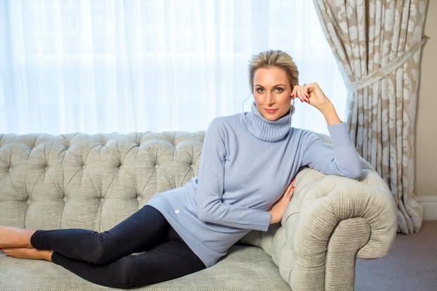 Stylish and comfortable: Wicklow designer Lucy Nagle. Photo: Kip Carroll