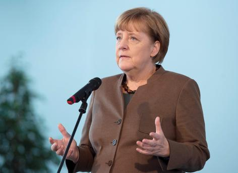 Political casualty: Angela Merkel's call for an 'open border' policy could come back to bite her.
