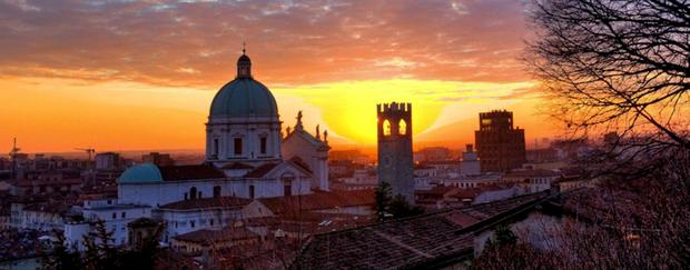 Magical italy: Off the usual tourist trail, Brescia has lots of cafes and shops and places to see. It is a compact and easily navigated city