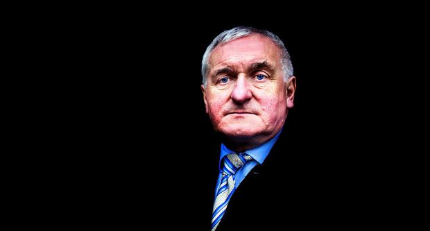 Bertie Ahern. Photo: David Conachy