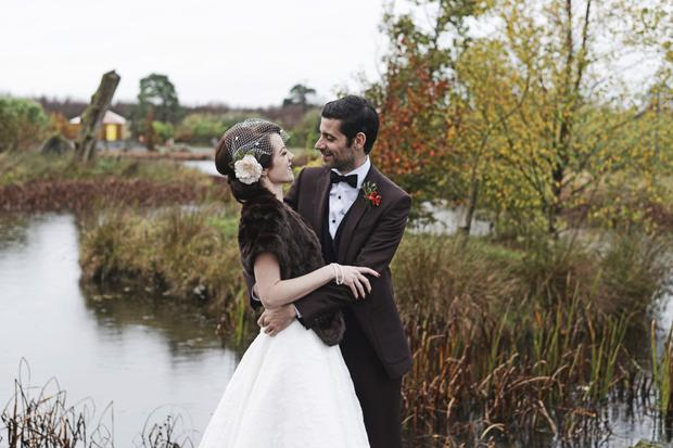 Ailbhe and Emil found the perfect spot in Mount Druid, Co Westmeath for their wedding. Photo: Ewa Figaszewska, Creative Wedding Photography, weddingsindublin.com