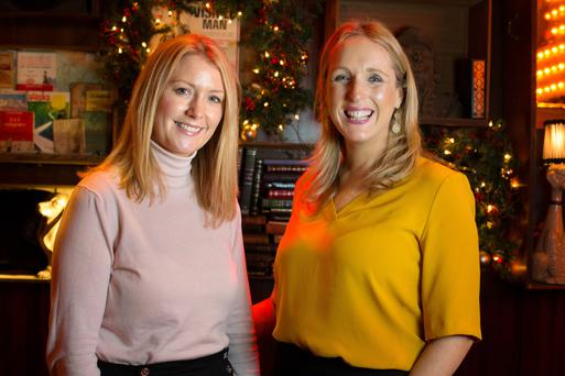 Foodies: Lorraine Heskin and Lorraine Byrne of the Gourmet Food Parlour. Photo: Tony Gavin.