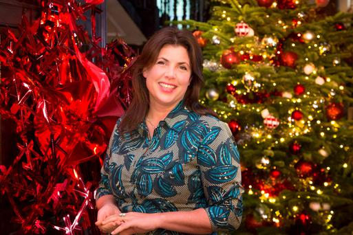 Crafty lady: Kirstie Allsopp who presents Channel 4's Kirstie's Homemade Christmas