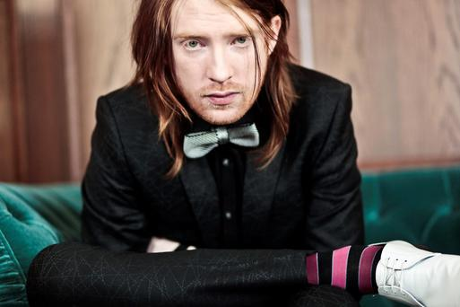 Gleeson does good: Domhnall has appeared in four major Hollywood flicks this year.