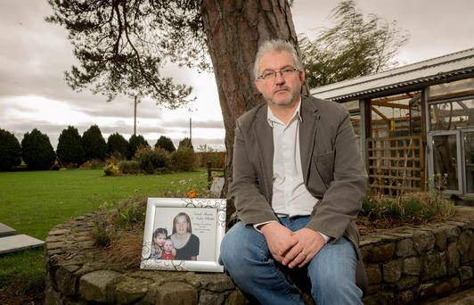 Still grieving: Sharon's brother John Whelan. Photo: Dylan Vaughan.