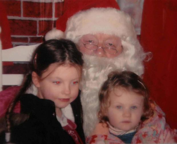 Sadly missed: Sisters Zara (left) and Nadia Whelan were killed in a house fire in 2008.
