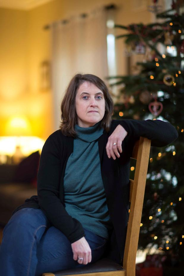 Family: writer Arlene Harris faces her first Christmas without her beloved dad Aidan O'Beirne,