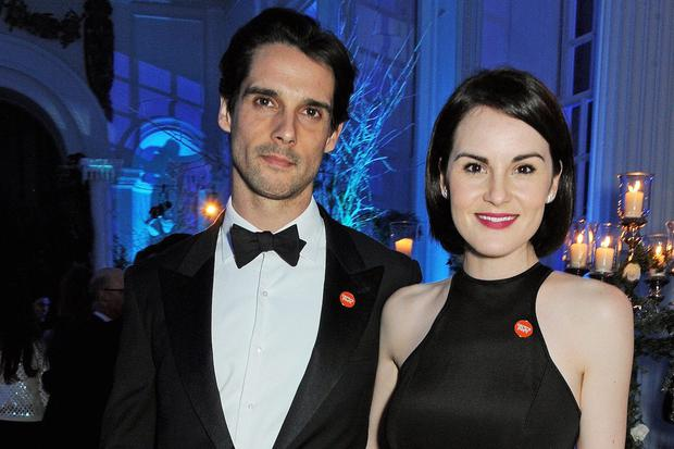 Love lost: John Dineen and Michelle Dockery