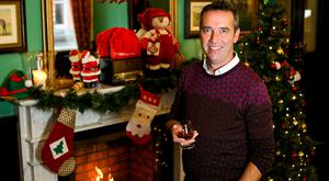 Chestnuts roasting on an open fire: Kevin Dundon says preparing the bulk of your Christmas meal the night before will give the best results
