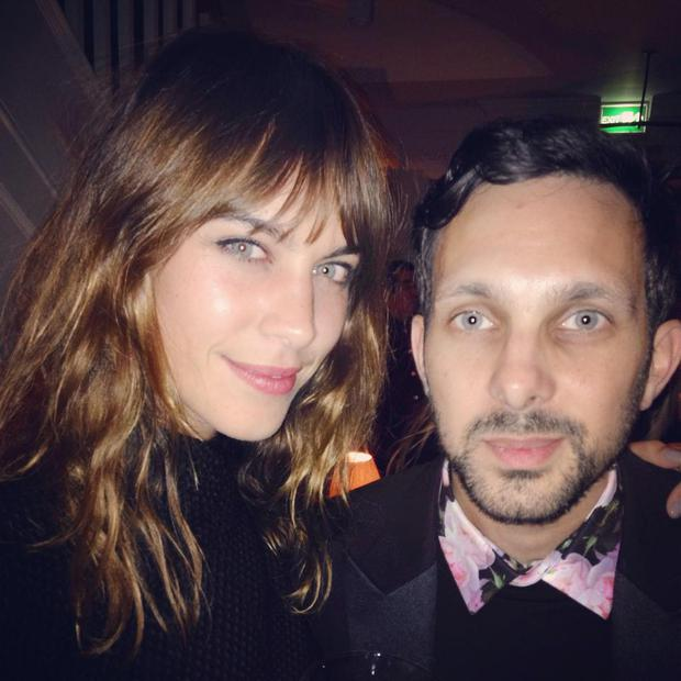 Dynamo and TV presenter Alexa Chung