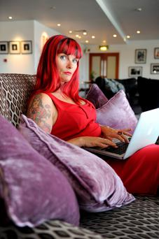 'When I tried to contact him, he remained elusive, culminating in him blocking me on Facebook': Suzanne Harrington is dealing with a difficult break up.