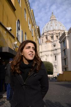 'Fight like a lion': Francesca Chaouqui denies the sexual relationship or that she leaked secret Vatican documents
