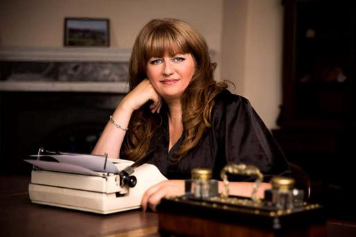 Control: Writer Carmel Harrington finished her first draft of her first novel in 13 days.