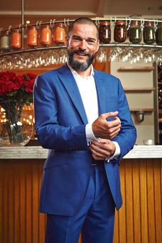 French maître d' Fred Sirieix. Photo: Stephen Wells/Channel 4.
