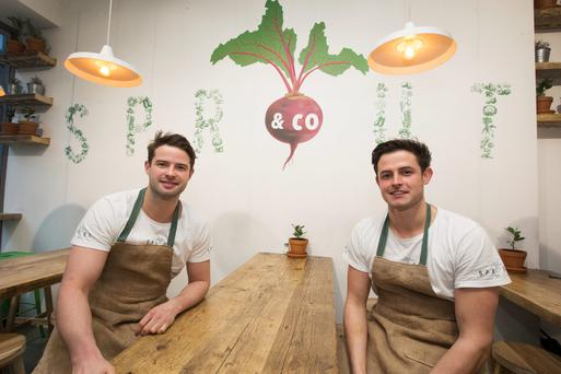 Jack Kirwan and his brother Theo - the brains behind Sprout & Co.