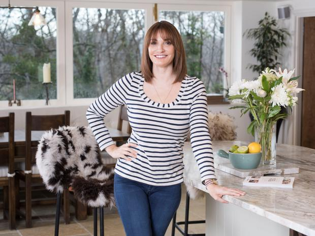 New me: Sarah Parish credits nutritional therapist Rick Hay with her new figure. Photo: Andrew Crowley
