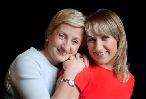 Cork's finest: TD Aine Collins was 20 when her daughter Ciara was born and they are very close, even though Ciara