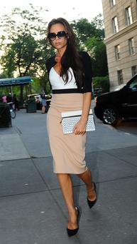 Gossip: Magazines have long reported on Victoria Beckham's weight.