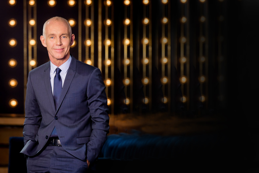 Ray D'Arcy hosts The Ray D'Arcy Show on RTE One